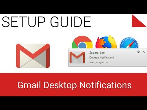 Gmail Desktop Notifications