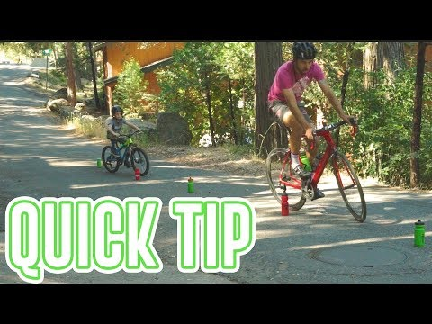 Improve Bike Handling Skills - 3 AT HOME drills (QUICK CYCLING TIP)
