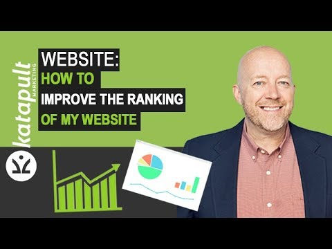 Website: How To Improve The Ranking Of My Website