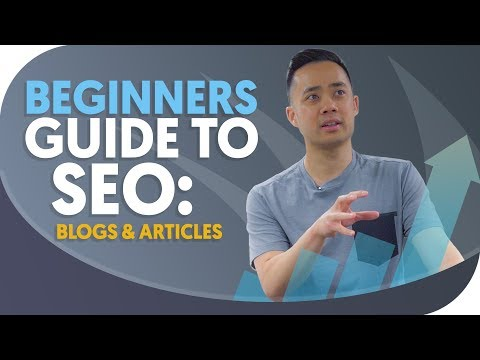 Beginners guide to SEO: getting started with blogs and articles