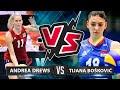 Andrea Drews vs Tijana Bošković | Who's the BEST for you? | VNL 2019 |