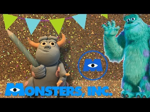 HOW TO MAKE SULLY (MONSTERS INC)  TUTORIAL  | CLAY CRAFT  DIY | FIGURINE | Cup n Cakes Gourmet