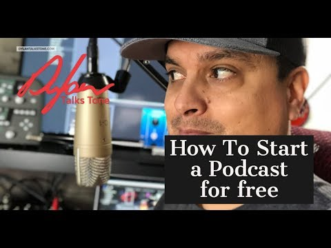 How To Start a Podcast For Free With Garage Band and Anchor Ep 322