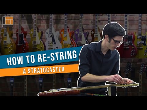 How to Change a String on a Stratocaster