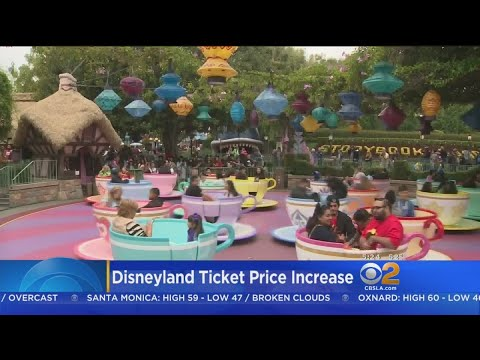 Ticket Prices To Disneyland Go Up Again