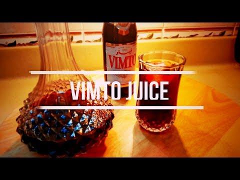 طريقة عمل عصير فيمتو | How To Make Vimto Juice 4K