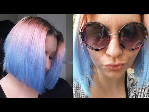 Dying My Hair Blue and Pink