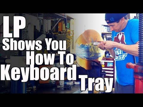 How To Keyboard & Mouse Tray