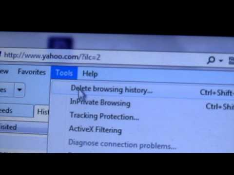 How to delete your computer browsing history