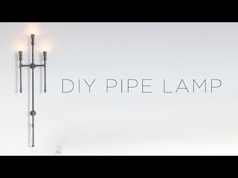DIY Iron Pipe Lamp | Re-Upload