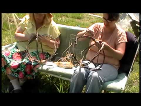 Nancy Today: Egg basket 2 ASMR basketmaking (basket making tutorial) hacer cesta