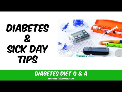 How To Manage Diabetes on Sick Days: Tips