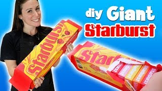 DIY GIANT STARBURST - WE SURPRISE A KID