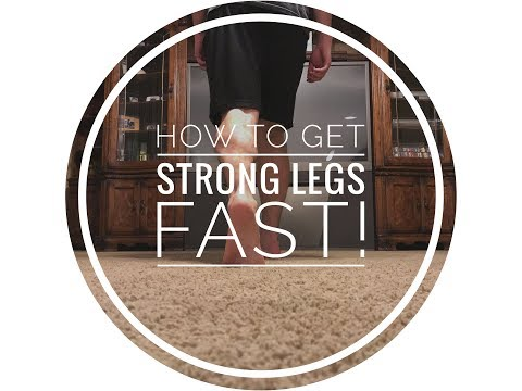 How To Get Stronger Legs At Home Without Weights!