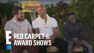 Kevin Hart, The Rock & Jack Black Dish on High School | E! Live from the Red Carpet