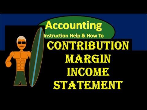 2100.10 Contribution Margin Income Statement & Contribution Margin Per Unit