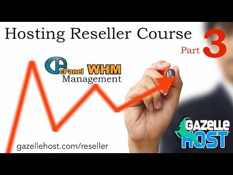 Using cPanel Branding  - Hosting Reseller Course - gazellehost.com/reseller