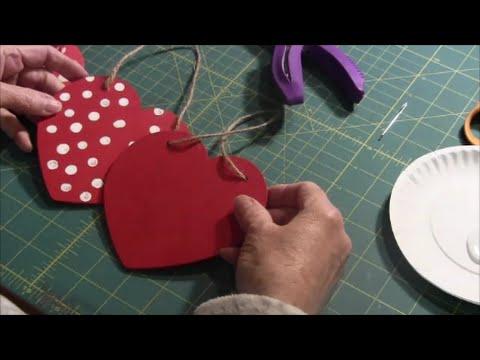 Heart Deccoration - Wood Heart or Foam Heart