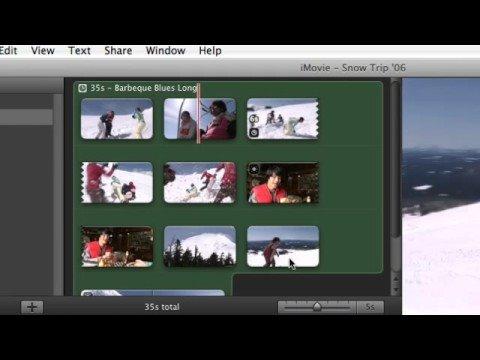 Apple iLife iMovie-Adding Sound Effects