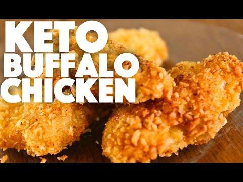 Keto Buffalo Chicken Recipe - keto diet meal prep recipes - ketogenic weight loss - lchf