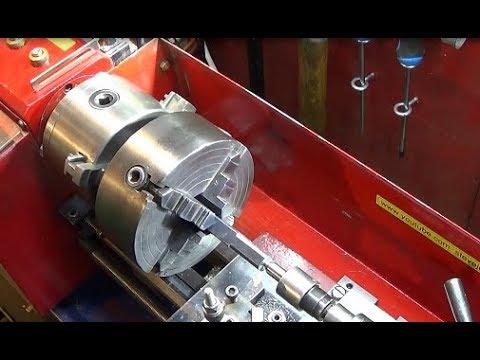 Chinese Mini Lathe Draw Bar & 24 Hole indexing Plus Mandrel Handle