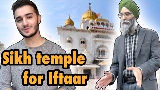 MUSLIM goes to Gurdwara (Sikh temple) to open FAST in Ramadan