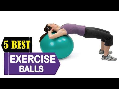 5 Best Exercise Balls 2018   Best Exercise Balls Reviews   Top 5 Exercise Balls