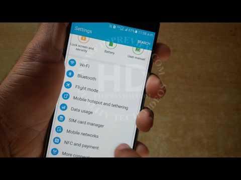 4G Network Mode Settings for Samsung Galaxy A5 A7 A8 A9 J1 J2 J3 J5 J7 J9 | How to Mobile Tutorial