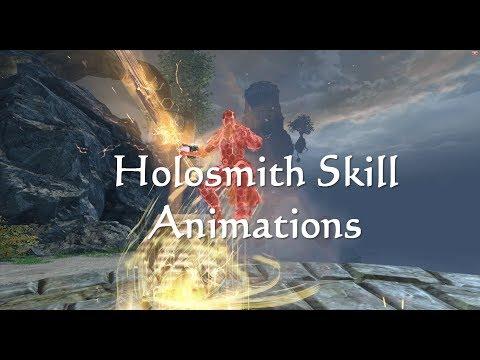 GW2 Holosmith (Engineer) Elite Spec Skill Animations