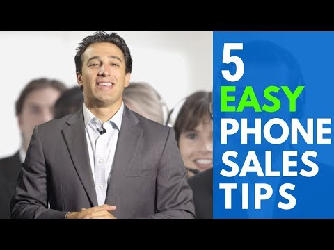 5 Easy Phone Sales Tips