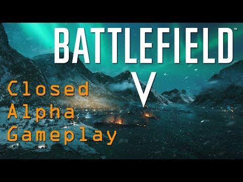 Battlefield V Closed Alpha - Twitch Livestream First Matches Played