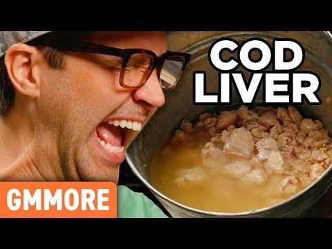 Cod Liver Taste Test