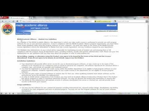 MSDN Download Procedure