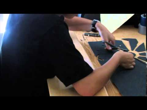 Designing and cutting custom griptape
