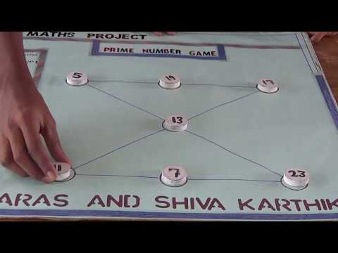 Prime Number Game | Maths Project |