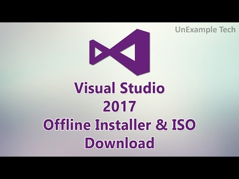 Visual Studio 2017 Offline Installer & ISO Download.