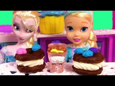 Disney Frozen Queen Elsa Toddler Playdoh Ice Cream Sandwiches Sweets Food