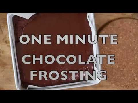 ONE Minute Frosting