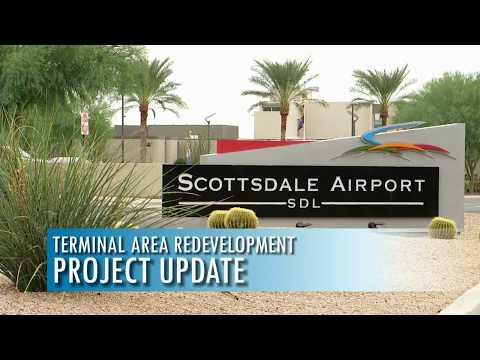 Scottsdale Airport Aviation Business Center Construction Time Lapse