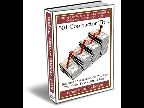 Clients Right To Cancel Contract - Contractor Business Tip #280