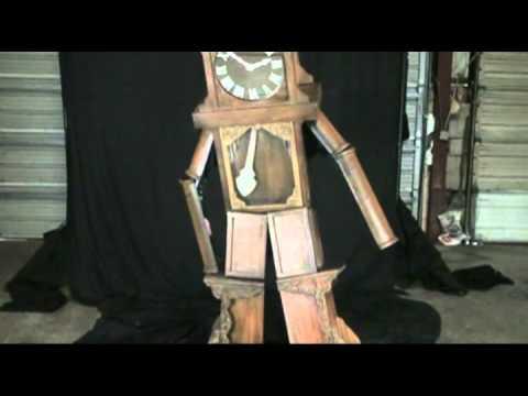 Grandfather Clock Costume