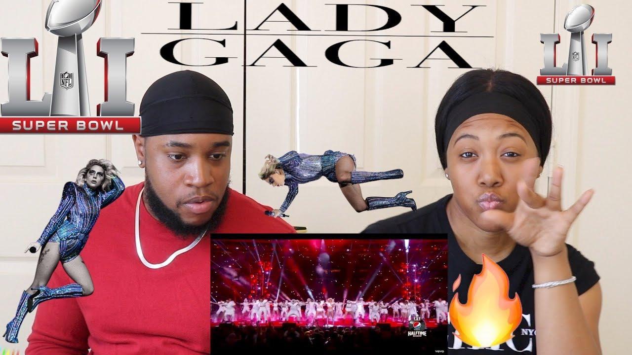 Lady Gaga - Pepsi Zero Sugar Super Bowl LI Halftime Show | Reaction |