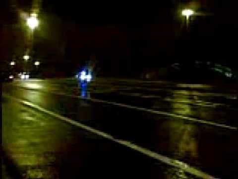 UK Police Car respondinng