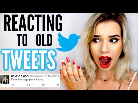 REACTING TO MY OLD TWEETS! (CRINGEY) | Sylvia Gani