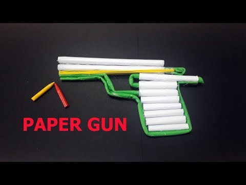 [DIY] How to make a Paper Gun that Shoots :) with trigger