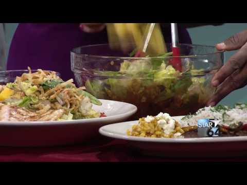 Learn to make Cheescake Factory's Chicken, Mango and Avocado Salad