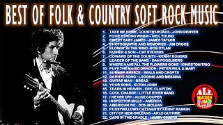 BEST OF FOLK & COUNTRY SOFT ROCK MUSIC - NONSTOP COLLECTION
