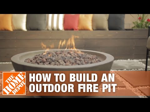 How To Build a Fire Pit Patio I Patio Style Challenge