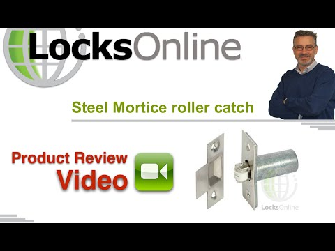 Mortice Roller Bolt Catch for Internal Doors Chrome Finish   LocksOnline Product Review