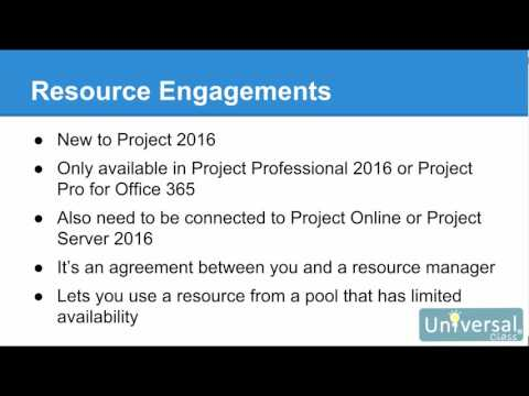 Lesson 17: Consolidating Projects and Resources - Microsoft Project 2016 Course  | Universal Class